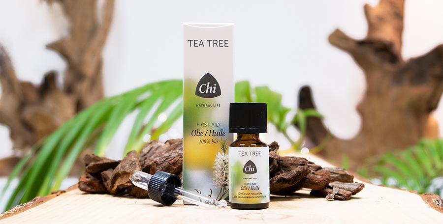 Tea Tree - Eerste Hulp - Rode huid