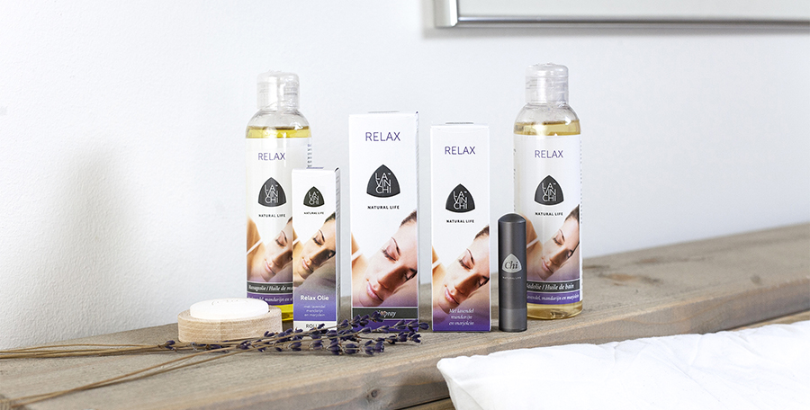 Lavinchi Lavendel Relax mix - Ontspannend - Herstellend vermogen van de huid