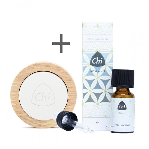 Back to Earth mix olie + GRATIS Aromastone Wood