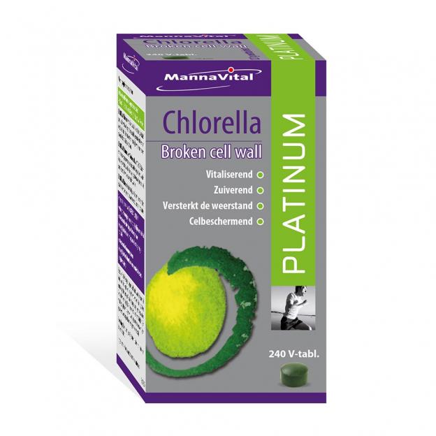 Mannavital Chlorella Platinum