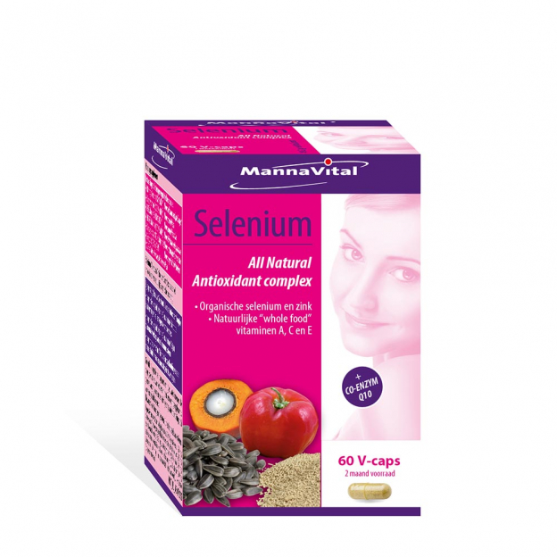 Mannavital Selenium All Natural Antioxidant complex