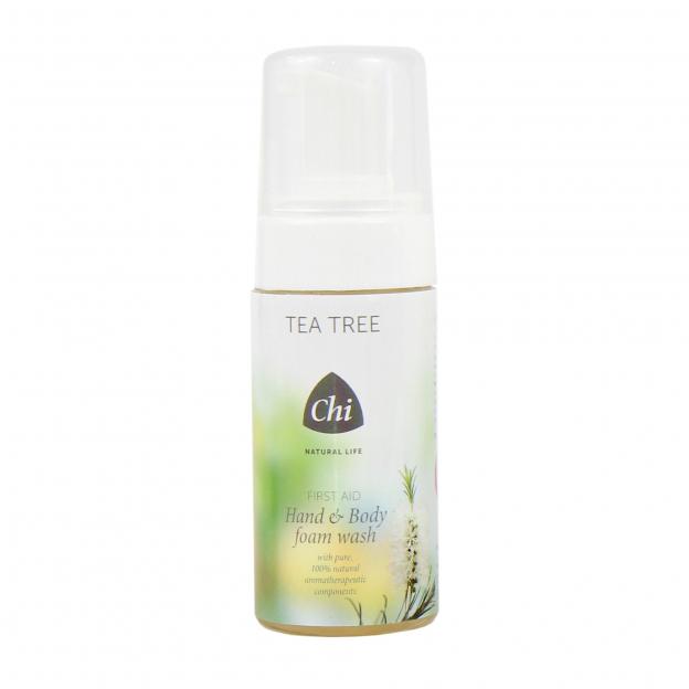 Tea Tree Hand & Body Foam Wash + Navulling
