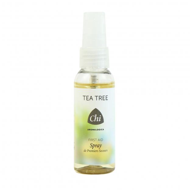 Tea Tree, eerste hulp spray - nieuwe verpakking