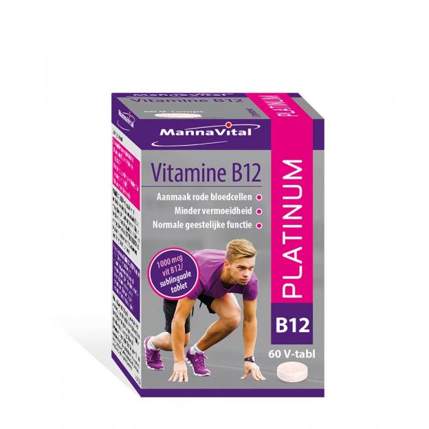 Mannavital Vitamine B12 Platinum