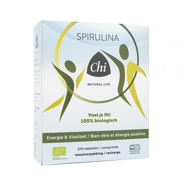 Chi Bio Spirulina tabletten navulling