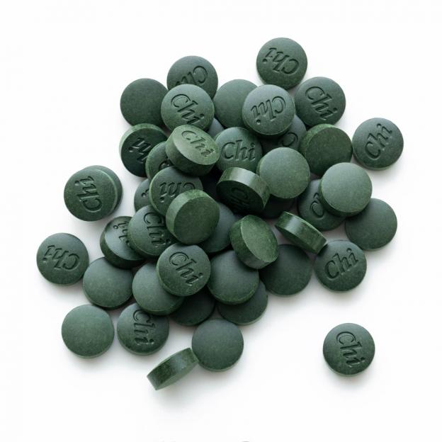 Bio spirulina tabletten, navulling