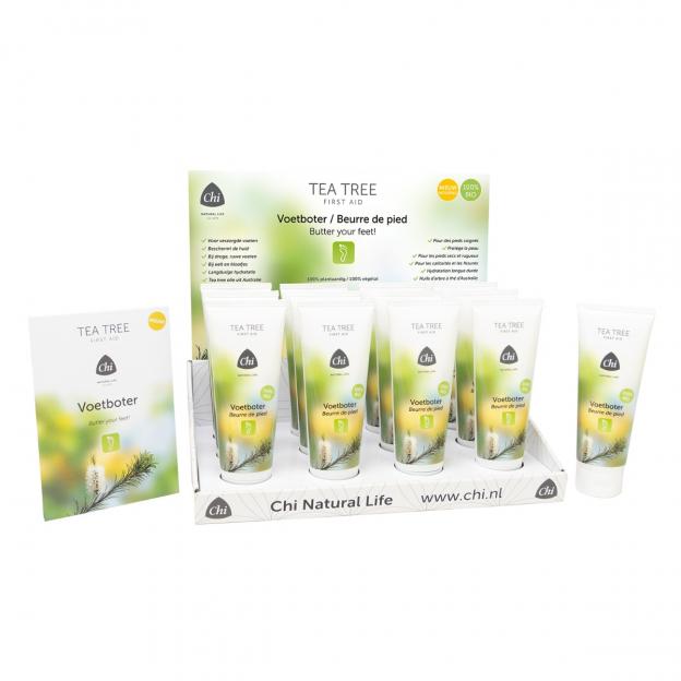 Display: Tea Tree Voetboter