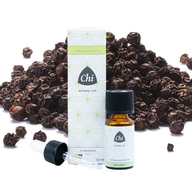 Zwarte Peper etherische olie, biologisch